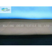 125D*150D Polyester Plain Single Spray Peach Skin Fabric